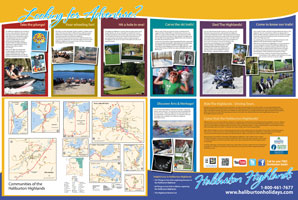 Haliburton Highlands Adventure Map