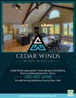 Cedar Winds Full Page Ad